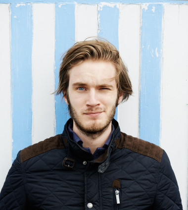 "Felix ""Pewdiepie"" Kjellberg, first cover interview for Icon Magazine."
