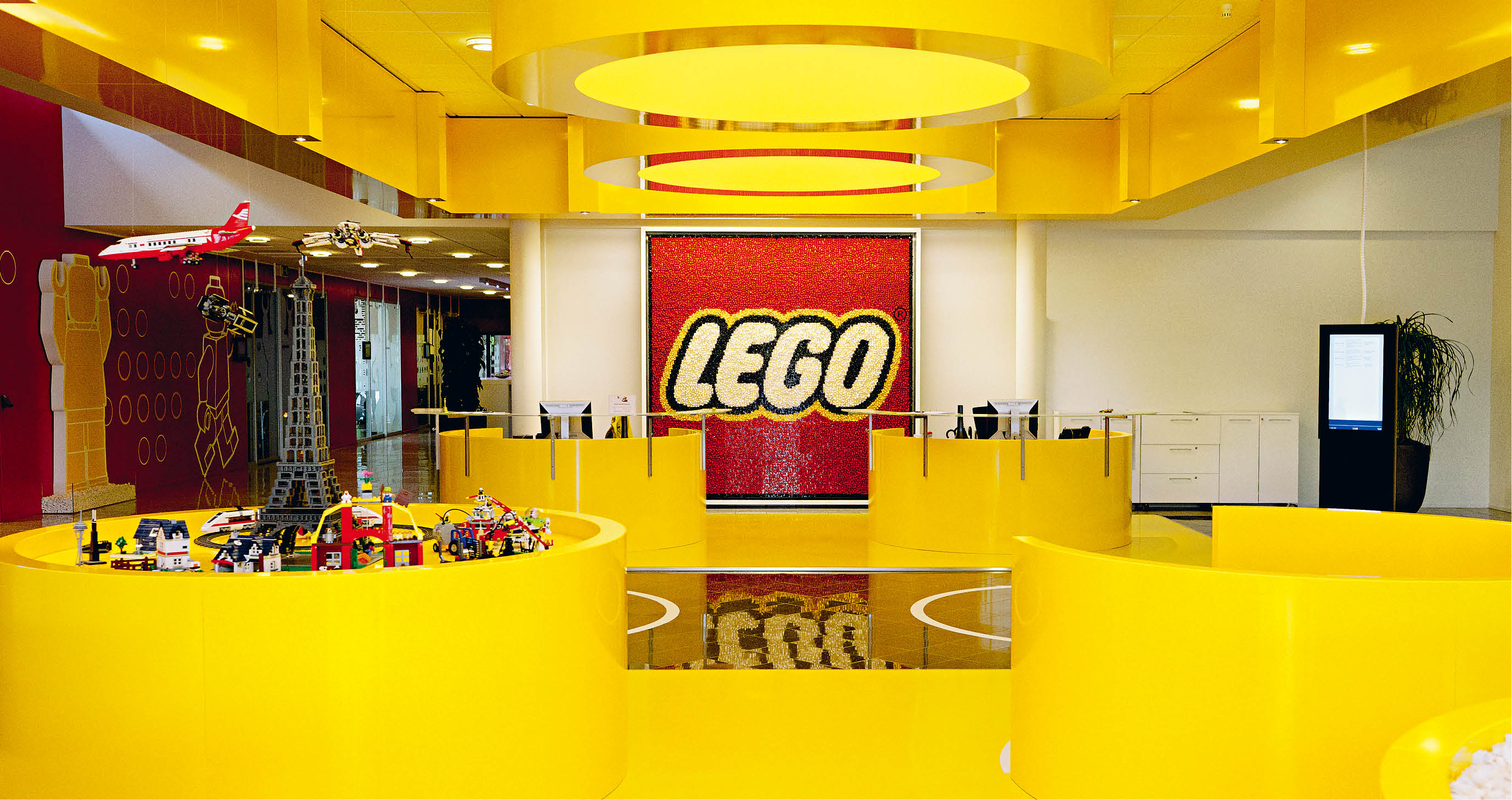 lego head office. All The Pieces In Place Lego Head Office